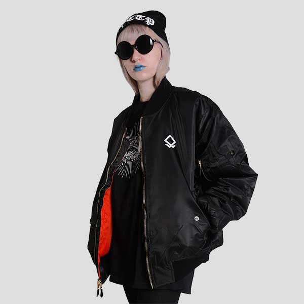 NVR MND FLIGHT JACKET