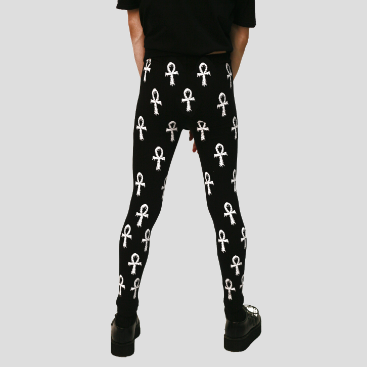DRIPPING ANKH LEGGINGS