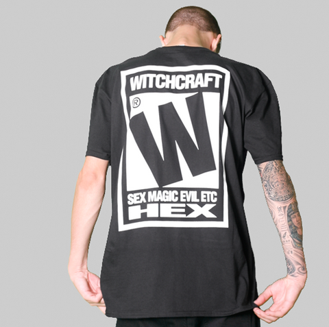 RATED W FOR WITCHCRAFT T-SHIRT