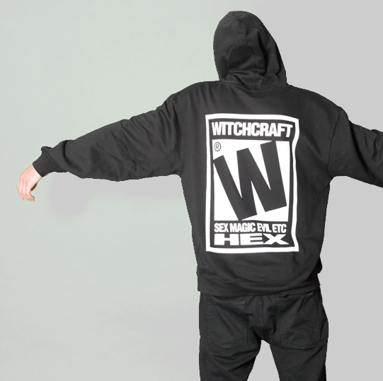 RATED W FOR WITCHCRAFT HOODIE