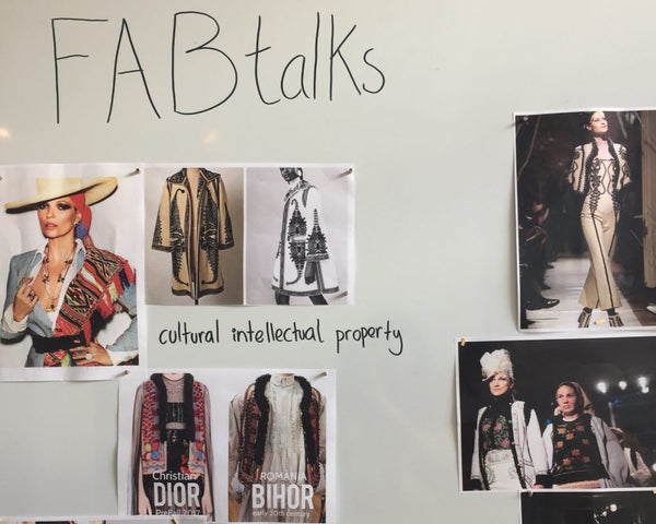 FABTALKS #15 - FASHION AND CRAFTS: A RETURN OF INVESTMENT FOR GENERATIONS TO COME