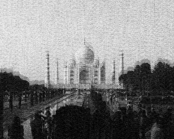 Love Behind the Walls of Taj Mahal