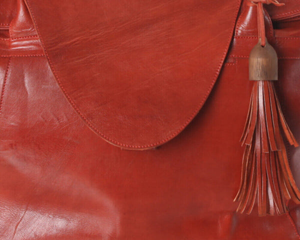 Behind the Seams: ABURY Free People Leather Shopper Bag