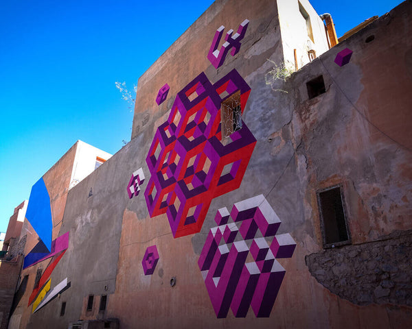 First Marrakech Street Art Festival MB6 - Street Art