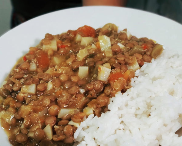 Winter Food: Traditional Vegan Chilean Lentil Stew Recipe