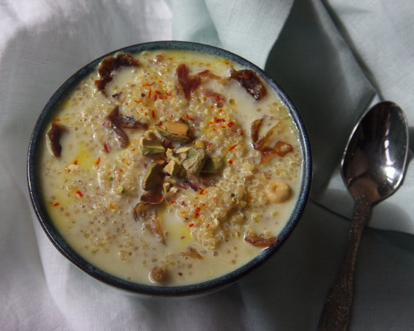 Indian Saffron Yoghurt Pots (Shrikhand)
