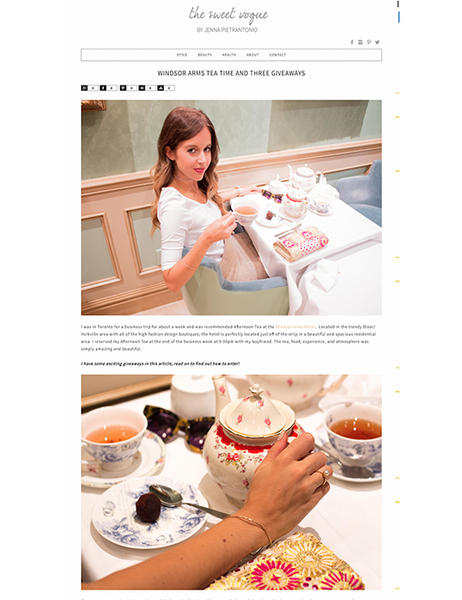 The Sweet Vogue Blog