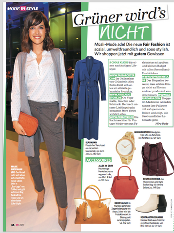 IN Magazine 17 Rabbia Camel Leather Tote Bag