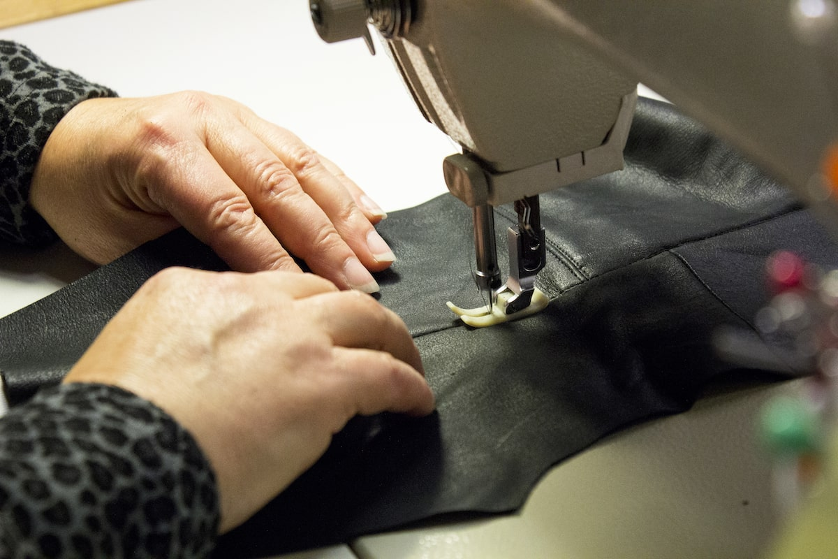 Better World Fashion Brand Upcycling Leather