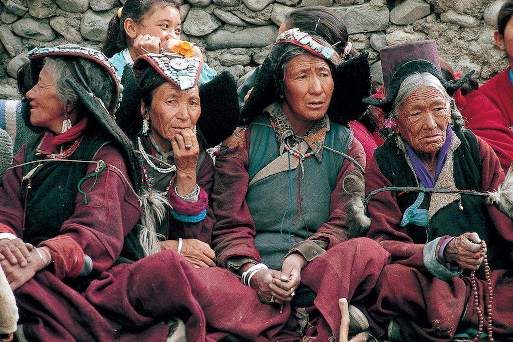 Local people in Himalayas