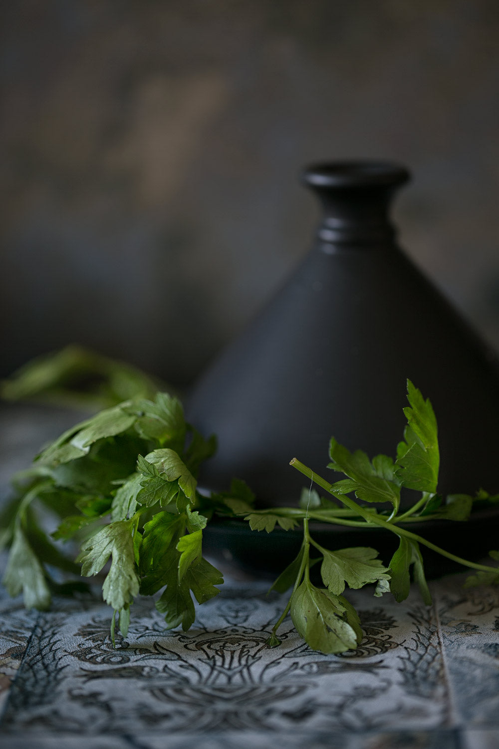 Parsley one of the ingredients of the  Moroccan Sandwich Recipe