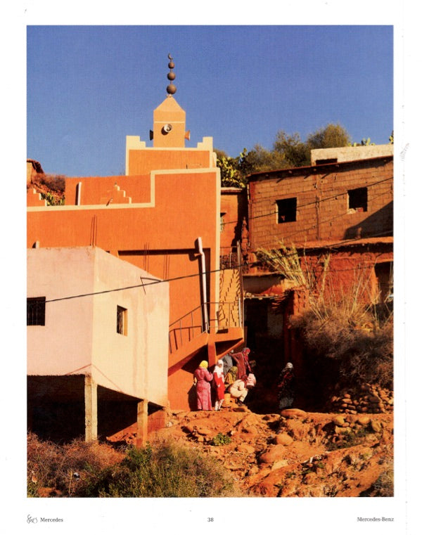picture a moroccan village