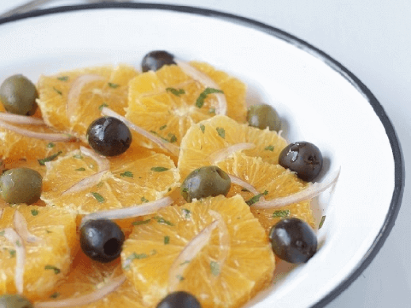 recipe moroccan orange salad