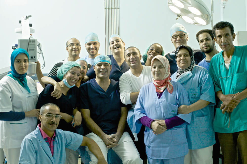 dr raiss and his team