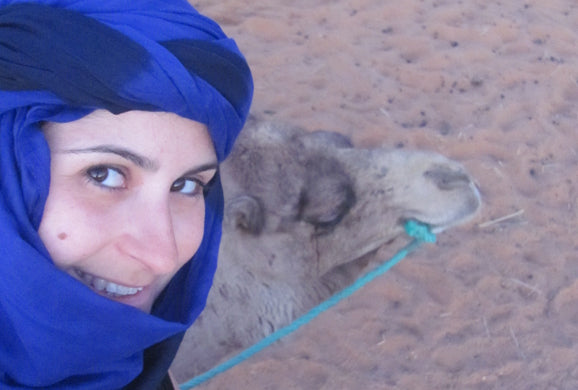 picture of mayta with a camel