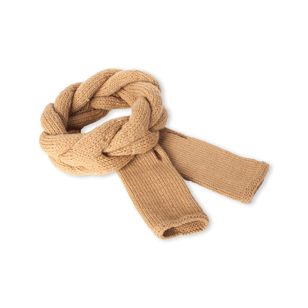 Sand Headband and Finger-less Alpaca Gloves Set - Winter Accessories - ABURY Collection Ecuador