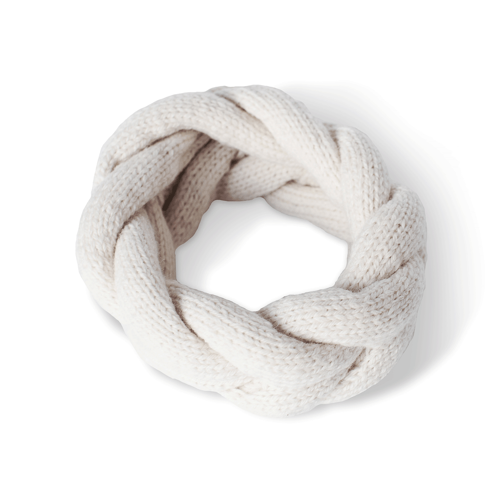 Ivory Alpaca Wool Headband - Accessories - ABURY Collection