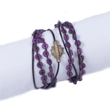 Abongo Convertible Sun Bracelet by Muse Group - Plum