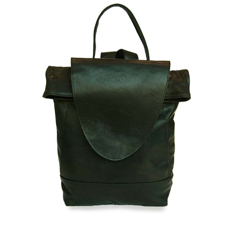 Saffron Leather Backpack for Women