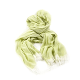 Green 100% Cotton Scarf