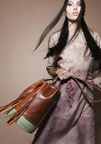 Leather Bucket Bag Rosa - Bucket Bags - ABURY Collection