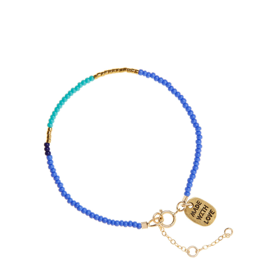 sidai designs endito bracelet blue and turquoise colour jewellery