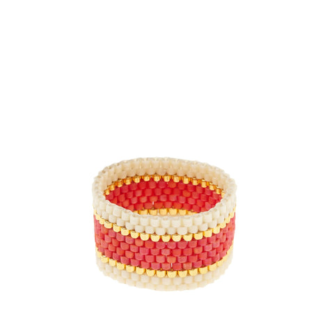 Woven Ring by Sidai Designs - Grey