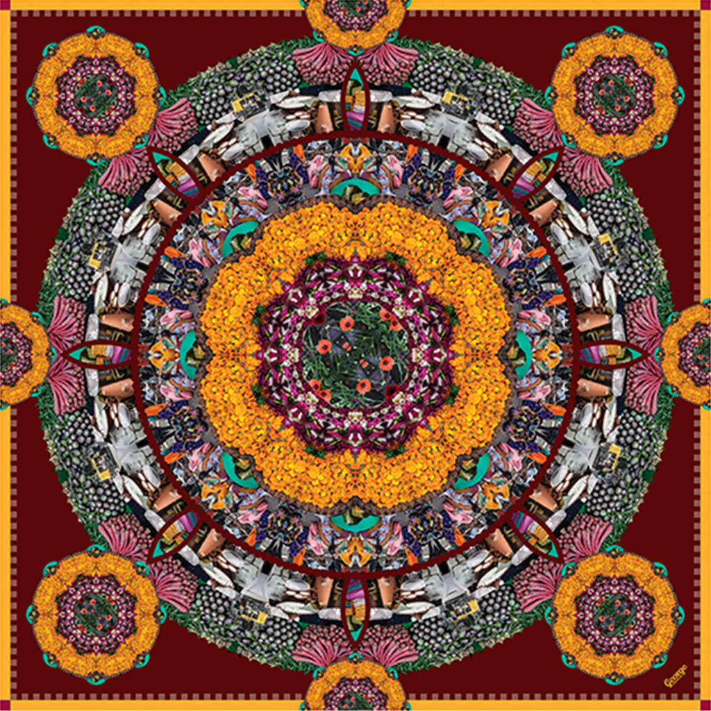 cocccon jaipur colors of india scarf - sustainable production