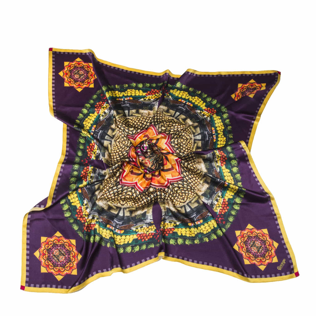 cocccon maharashtra colors of india scarf - darker colours