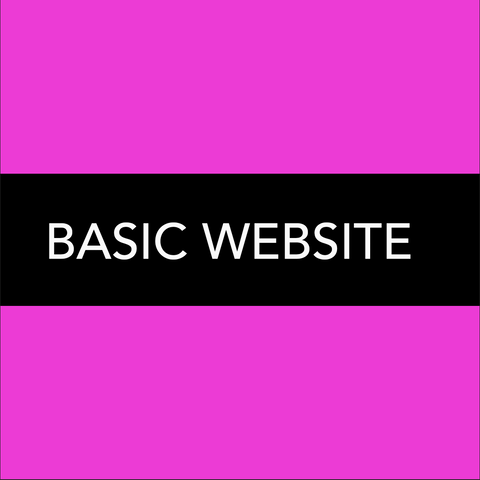 BASIC WEBSITE PLAN - 1 TEXTURE + MORE!