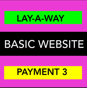 BASIC WEBSITE - LAYAWAY - PAYMENT 3