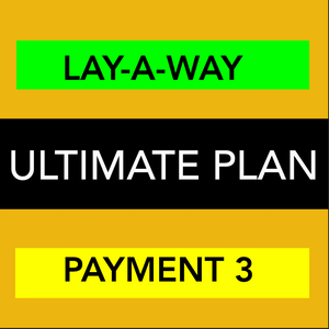 ULTIMATE WEBSITE - LAYAWAY - PAYMENT 3