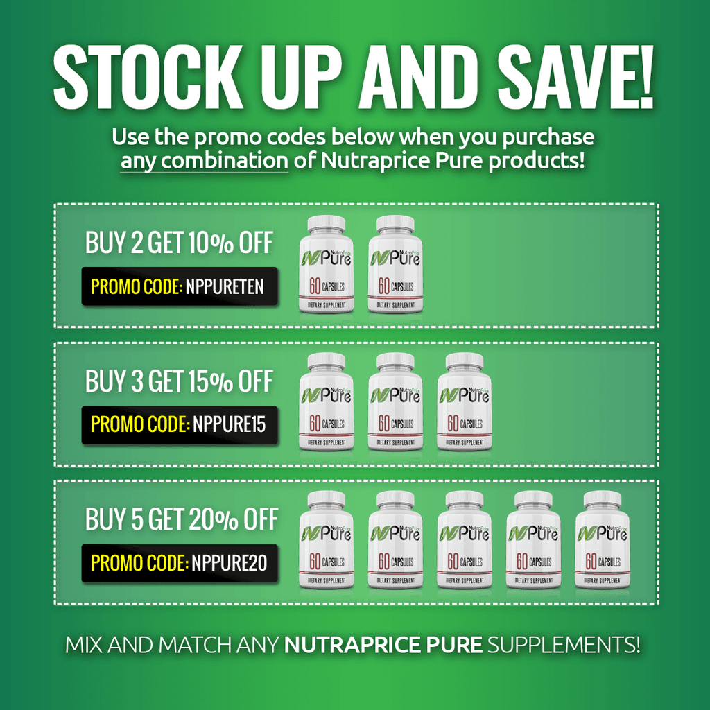 NutraPrice Pure Premium All-Natural NO Booster