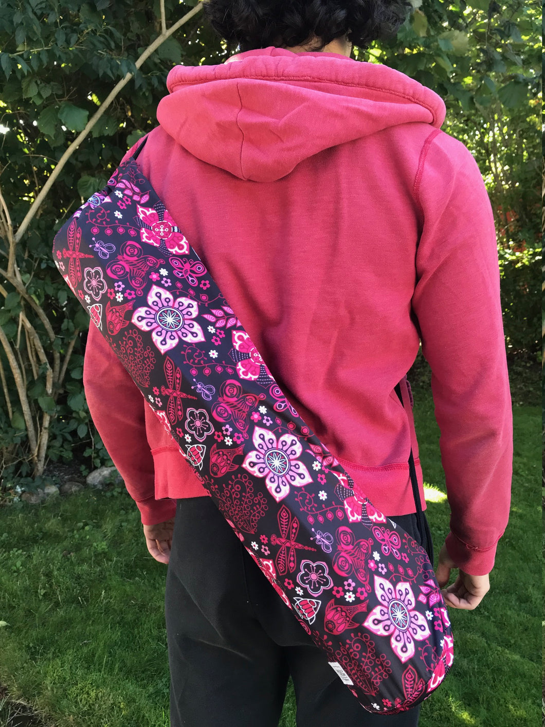 Sweat Pack Yoga Bag Flower