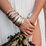 Silver Spinning Bangles
