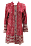 Recycled Brocade Sari Long Jacket - Various colours