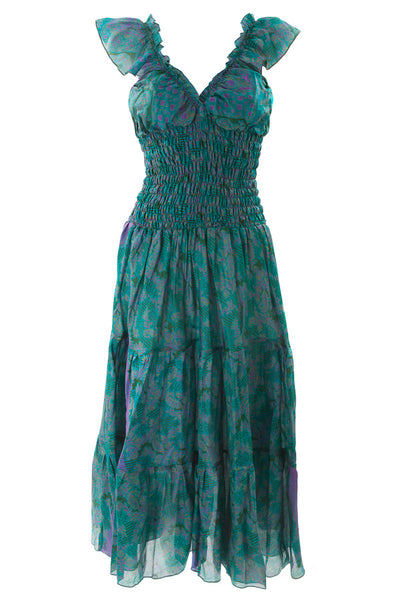 Green Flamenco dress
