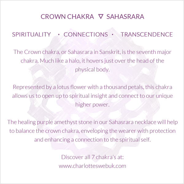 Crown Chakra Benefits