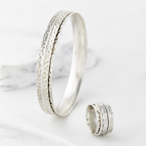Karma Abundance Ring and Bangle Set