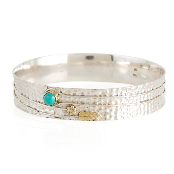 Secret Garden Bangle - Turquoise