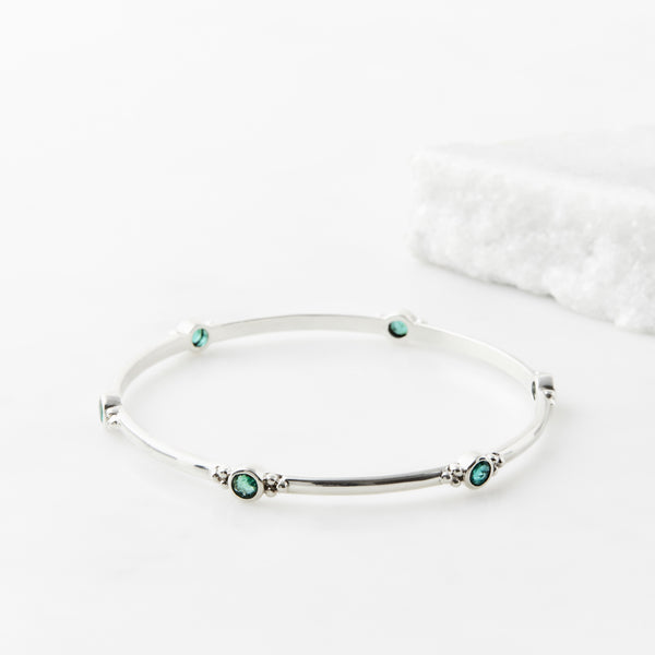 HOLI JEWEL EMERALD BANGLE