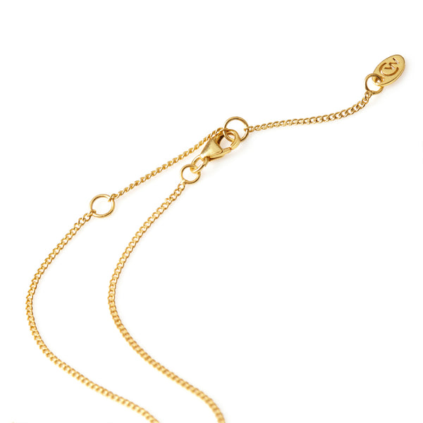 Adjustable gold link chain