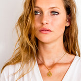 CROWN CHAKRA NECKLACE - GOLD
