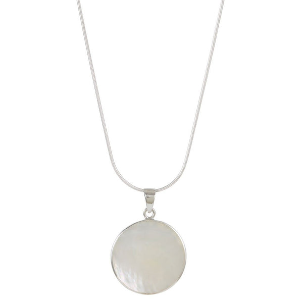 TREE OF LIFE HEALING NECKLACE - MOTHER OF PEARL