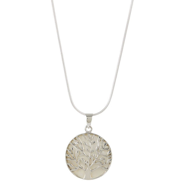 TREE OF LIFE HEALING NECKLACE MOTHER OF PEARL