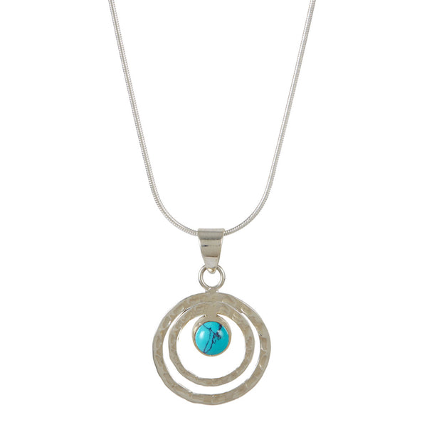 Infinity Universe Necklace - Turquoise