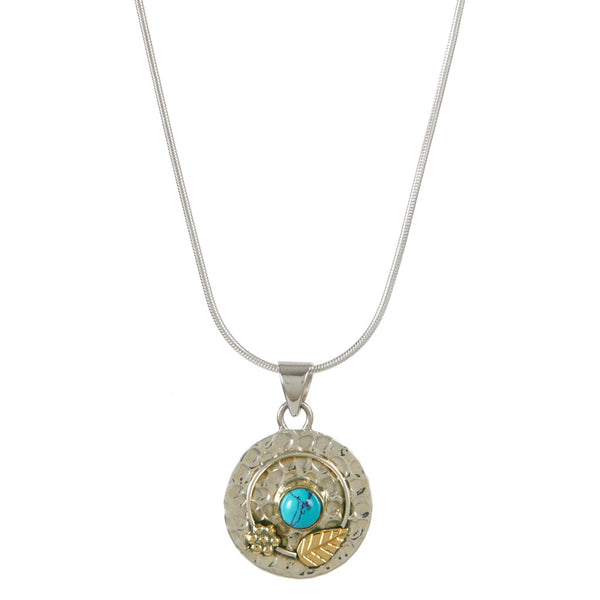 Secret Garden Necklace - Turquoise