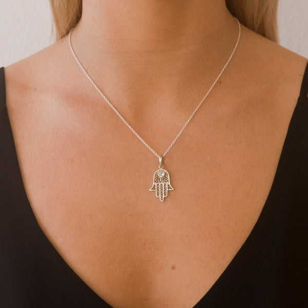 Hamsa Fortune Necklace