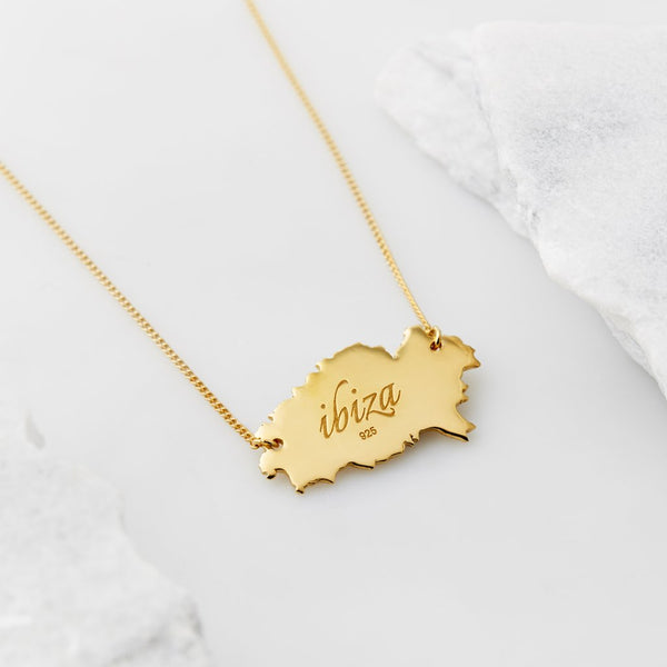 Ibiza Constellation Necklace - Gold