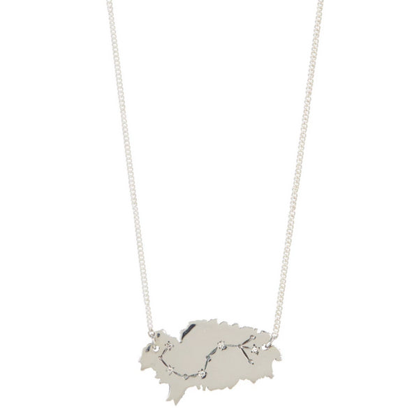 Ibiza Constellation Necklace - Silver